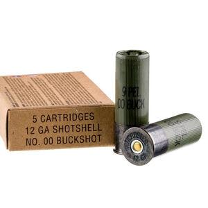 """Winchester 12 Gauge 2-3/4"""" Ammunition 00 Buck Military Grade"""
