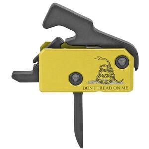 Rise Armaments Flat Super Sporting Trigger AR15 Drop-In Single-Stage 3.5 lb Pull Anti-Walk Pins DTOM Logo