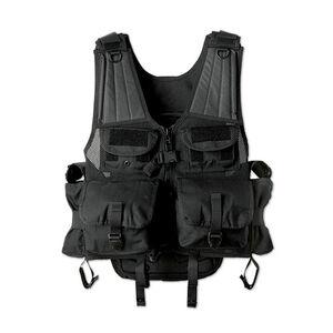 Uncle Mike's Launcher Vest Ballistic Nylon 4 Launcher Pouches Black