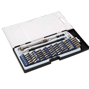 Wheeler Engineering Precision Micro Screwdriver Set With Case 58 Piece Set 564018