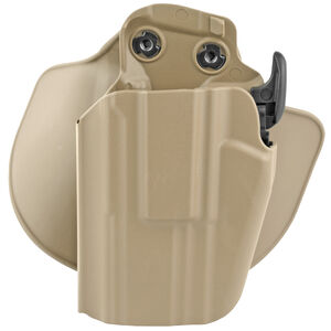 Safariland Model 578 Paddle/Belt Loop OWB Holster Left Hand Draw SIG Sauer P229 SafariSeven Construction STX Plain Flat Dark Earth