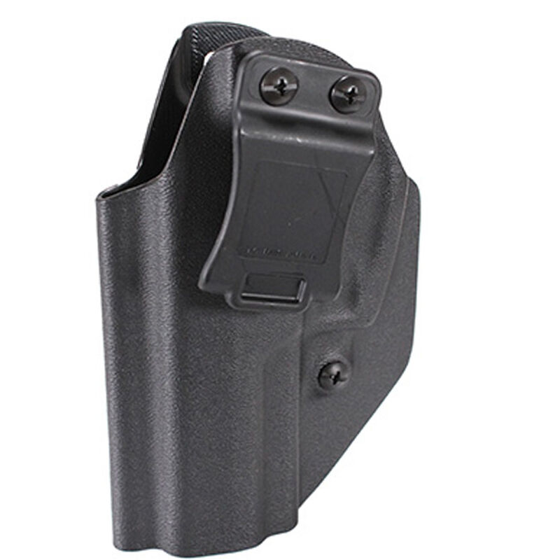 """Mission First Tactical SIG Sauer P320 Carry and Compact IWB/OWB Ambidextrous 1.5"""" Belt Clip Polymer Black"""