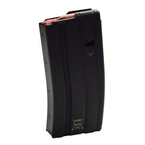 D&H Tactical AR-15 .300 Blackout 20 Round Aluminum Magazine With D&H Red Follower Black Anodized