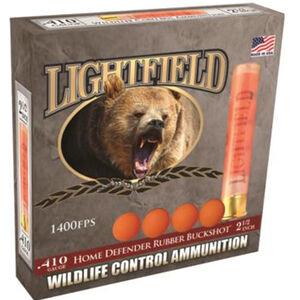 "Lightfield Wildlife Control Ammunition .410 Bore 2-1/2"" Rubber Buckshot 1400 fps"