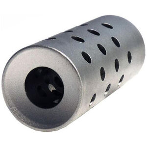 GLFA Optimus AR-15 Muzzle Brake 6.5 Grendel 5/8x24 Stainless Steel Natural Finish