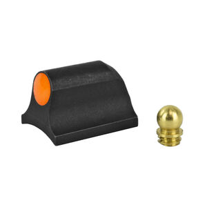"XS Sight Systems Ember Big Dot Orange Shotgun Requires 0.125"" to 0.140"" Diameter Bead With Mossberg Bead Front Sight Matte Black"