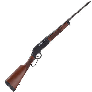 """Henry Long Ranger Lever Action Rifle 6.5 Creedmoor 22"""" Barrel 4 Rounds No Sights Drilled/Tapped Receiver Solid Rubber Recoil Pad American Walnut Stock Blued Finish"""