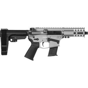 "CMMG Banshee 300 Mk57 5.7x28mm AR-15 Semi Auto Pistol 5"" Barrel 20 Rounds RML4 M-LOK Handguard CMMG Micro/CQB RipBrace Titanium Finish"