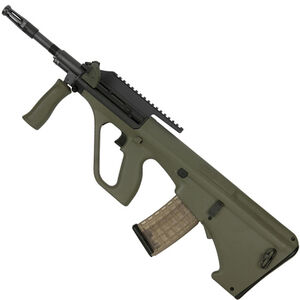"Steyr AUG A3 M1 Semi Auto Rifle 5.56 NATO 16"" Barrel 30 Rounds with High Rail Green"