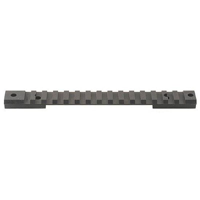 Warne One Piece Tactical Picatinny Scope Base 20 MOA Savage 110/116/Axis Long Action Calibers Tactical Rail Steel Matte Black