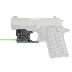 Viridian Reactor 5 Gen 2 Green Laser Sight with ECR SIG Sauer P238/938 with Ambidextrous IWB Instant-On Holster Polymer Housing Matte Black Finish