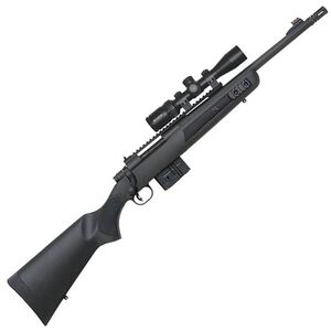 """Mossberg MVP Scout Combo Rifle .308 Win 16.25""""Bbl Blk"""