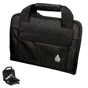 Leapers UTG Deluxe Single Pistol Soft Case 1680D Nylon Black PVC-PC01B