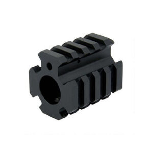 DMA, Inc. XTS AR .750 Low Pro Quad Rail Gas Block Aluminum Black
