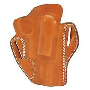 "DeSantis Speed Scabbard Belt Holster 2"" Taurus Judge Public Defender Right Hand Non-Lined Leather Tan"