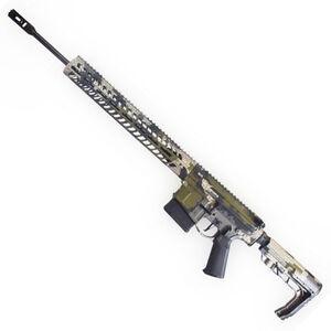 "2A Armament XLR-20 AR Style Semi Auto Rifle 6.5 Creedmoor 20"" Lightweight Barrel 20 Rounds Xanthos Lite 15"" XSC M-LOK Compatible Hand Guard Collapsible Stock Kuiu Vias Camo"