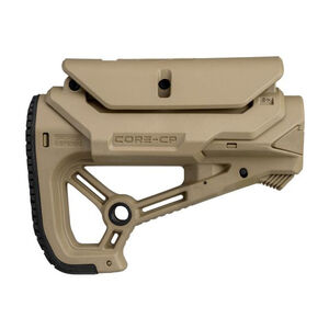 FAB Defense AR-15 GL-Core S CP Carbine Buttstock Mil-Spec/Commercial Diameter FDE