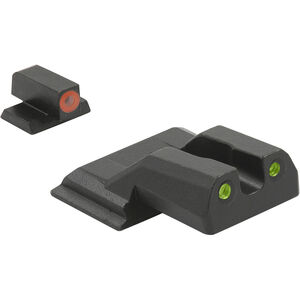 Meprolight Hyper-Bright Tritium Day and Night Sight Front Orange Ring/Rear Green for HK 45 / VP9 / SFP9 / P30