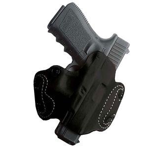 DeSantis Mini Slide For Ruger-57 Belt Holster OWB Leather Black