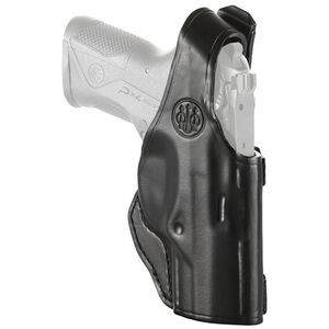 Beretta Mod. 06 Belt Holster Fits Beretta PX4 Compact Right Hand Leather Black
