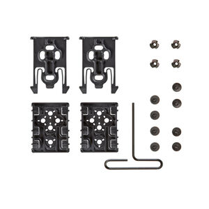 Safariland Equipment Locking System Kit Polymer FDE Brown