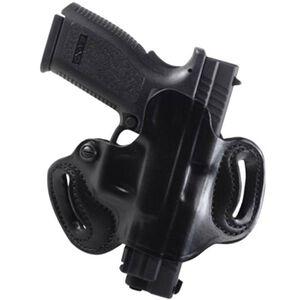 DeSantis Mini Slide Belt Holster Kahr/Kel-Tec Right Hand Leather Black 086BAK9Z0