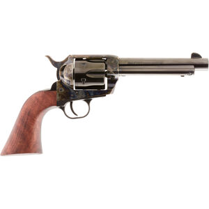 """Traditions 1873 Frontier Series .357 Mag Revolver 6 Rounds 5.5"""" Barrel Walnut Grip Case Hardened/Blued"""