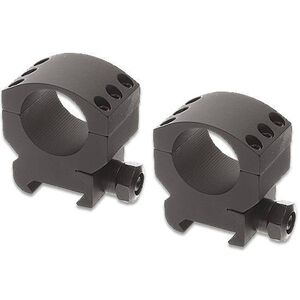 "Burris Xtreme Tactical Weaver/Picatinny Style Scope Rings 30mm Tube Diameter Medium Height 1.10"" Aluminum Matte Black"