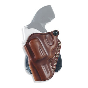 """Galco Speed Paddle Holster Fits S&W 2.25"""" K-Frame Revolvers Left Hand Leather Tan"""