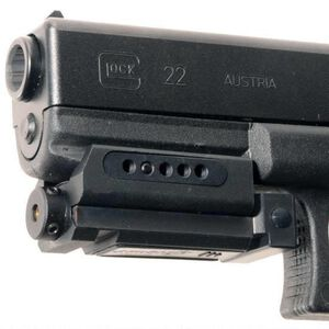 AimSHOT Rail Red Laser Sight and Pressure Pad