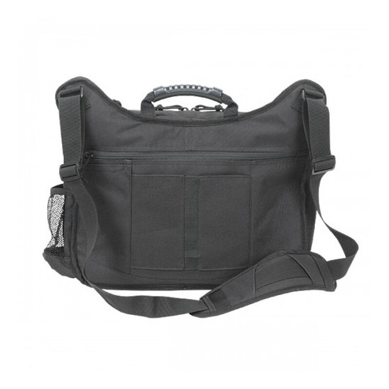 Voodoo Tactical Messenger Bag Velcro Holster 16.25L Capacity Cordura Black