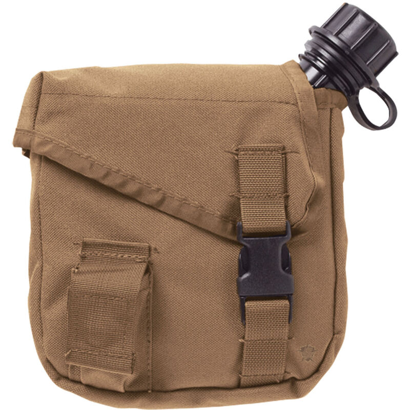 5ive Star Gear 2-Quart Canteen MOLLE Pouch Coyote