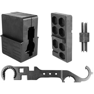 AIM Sports AR-15/M4 Armorer's Tool Kit, Black