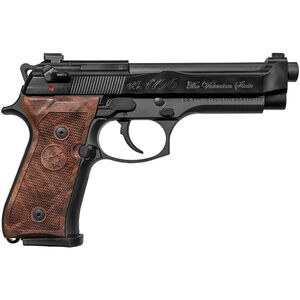 "Beretta 92G Brigadier Volunteer Limited Edition 9mm Luger Semi Auto Pistol 4.9"" Barrel 15 Rounds Decocker Tennessee Commemorative Engravings Walnut Grips Black Finish"