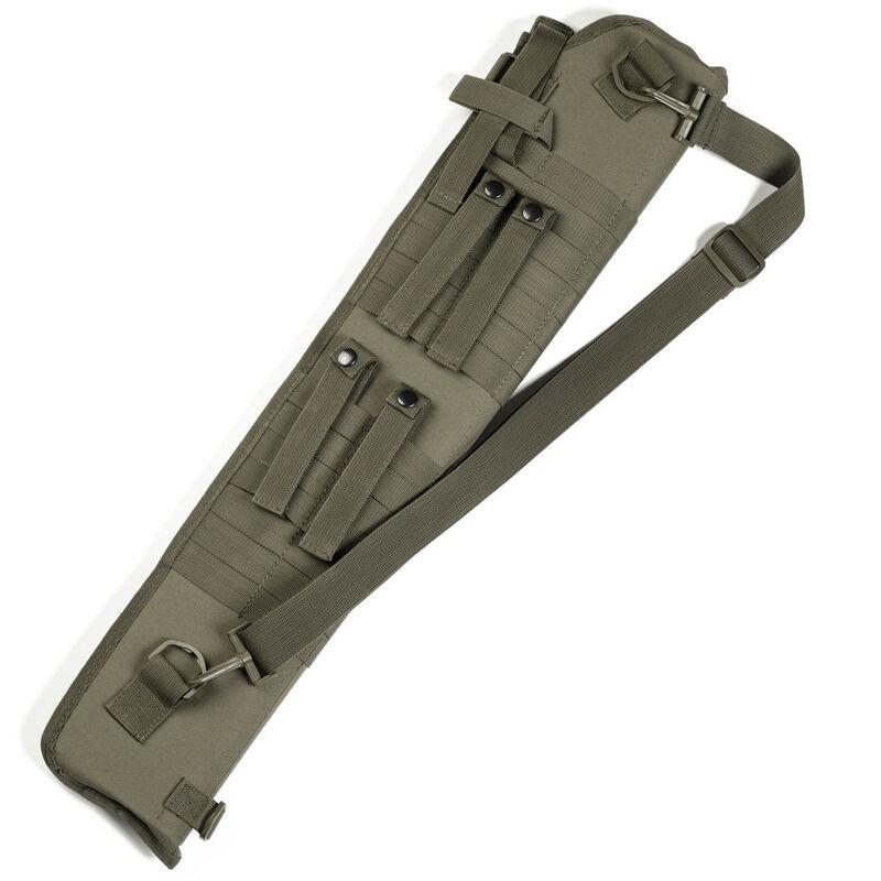 Red Rock Gear MOLLE Shotgun Scabbard MOLLE Webbing Padded 600D Polyester OD Green