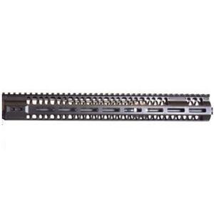"""2A Armament AR-15 Balios-Lite Rail Gen 2 10"""" M-LOK Compatible Free Float Hand Guard 6061 Extrusion Aluminum Hard Coat Anodized Matte Black"""
