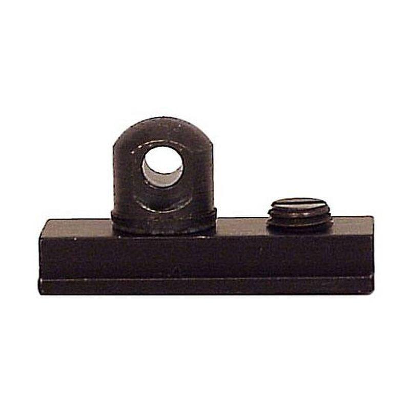 "Harris Bipod's Special Adapter Stud For European Size Rails 3/8"" Across Rail Slot Steel Construction Matte Black HB6"