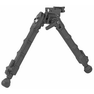 "Accu-Tac SR-5 G2 Bipod 6.25"" to 10.75"" Height Picatinny Mount Aluminum Flat Black"