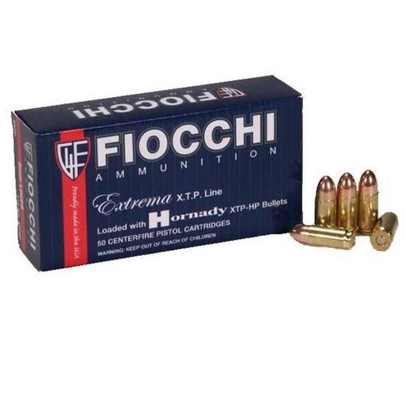 Fiocchi Extrema XTP Line 9mm Luger Ammunition 25 Rounds 147 Grain XTP JHP Projectile 950 fps