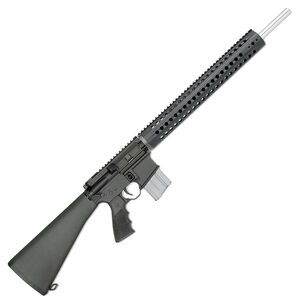 """Rock River Arms LAR-15M Predator Pursuit .223 Wylde Semi-Auto Rifle 20"""" Stainless Steel Barrel 20 Rounds Flat Top Optics Ready Synthetic Stock Black Finish"""