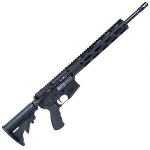 "Radical Firearms AR15 7.62x39 Semi Auto Rifle 20 Rounds 16"" HBAR 12"" Free Float FGS Handguard Black"