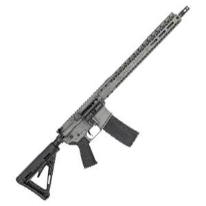 "Black Rain Ordnance AR15 5.56 NATO Semi-Auto Rifle 16"" Barrel 30 Rounds Flat Top Optics Ready Magpul MOE Stock Smith Grey Battleworn Finish"