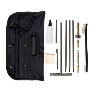 Tac Shield AR-15/M-16 5.56 NATO/.223 Rem GI Field Cleaning Kit Nylon MOLLE Compatible Pouch Black 03960