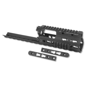 Midwest Industries SSR SCAR Rail Extension KeyMod Aluminum Black MI-S1617-SSRK
