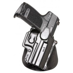 Fobus Standard Series Hi-Point .380/Bersa BPCC Paddle Holster Right Hand Draw Passive Retention Injection Molded Polymer Matte Black