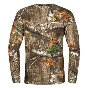Blocker Outdoors Shield Series Youth Fused Cotton Top Early Season Size S Realtree Edge