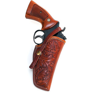 "El Paso Saddlery 1920 Tom Threeperson's for Ruger GP 100 4""/S&W L-Frame 4"", Right/Russet"