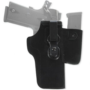 Galco Walkabout 2.0 Holster IWB Fits GLOCK 42/Ruger LC9 and Similar Ambidextrous Leather Black