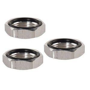 Lee Precision Die Lock Rings Three Pack 7/8x14 Aluminum 90534