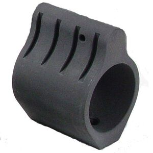 "Vltor Weapon Systems AR-15 Set Screw Low Profile Gas Block Stainless Steel 0.750"" Barrel Matte Black Oxide GB- SET750BLK"